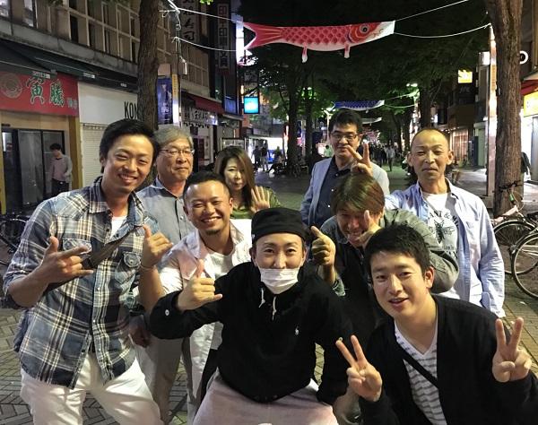 濱翔グループ飲み会の様子